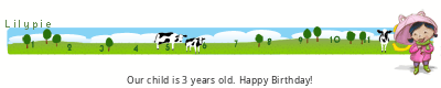 Lilypie Third Birthday (HBI6)