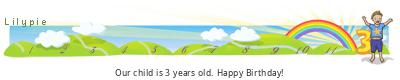 Lilypie Third Birthday (IdeR)