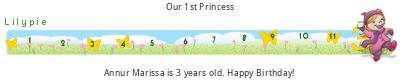 Lilypie Third Birthday (Zouj)
