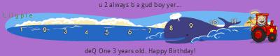 Lilypie Third Birthday (b8Hp)