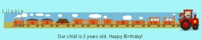 Lilypie Third Birthday (bHlN)