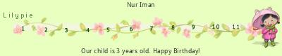 Lilypie Third Birthday (ssfX)